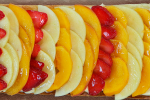Hojaldres de frutas