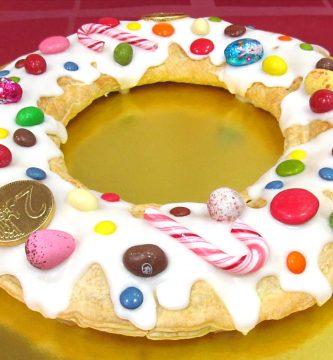 Roscón de Reyes con nutella