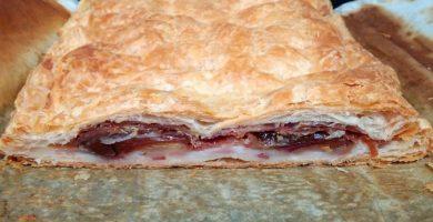 Empanada de bacon con queso